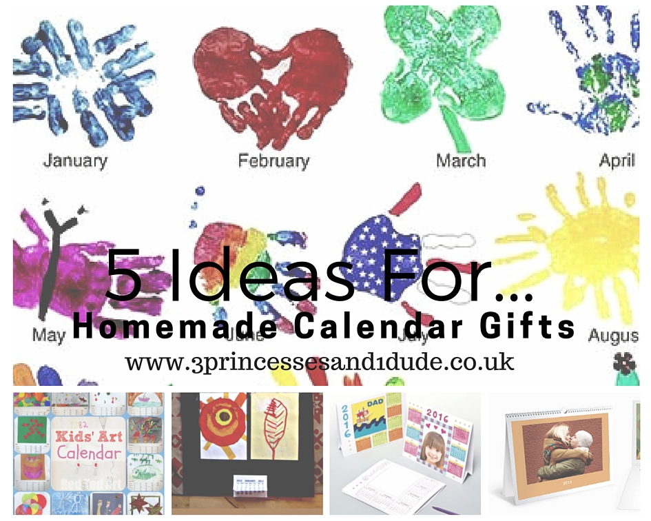 Homemade Calendar Ideas : Princesses and dude ideas for homemade calendar