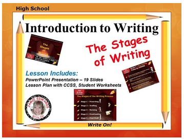 writing process lesson In this educational resource page you will find lesson plans and teaching tips about english learn about prewriting, drafting, revisions, proofreading, publishing.