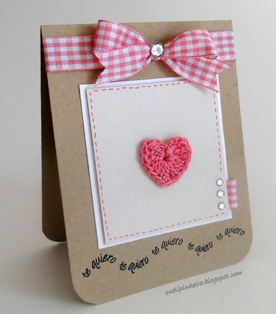 tarjeta amor y amistad San Valentin