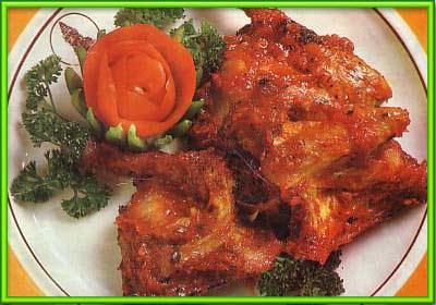 resep ayam bumbu rujak jawa timur