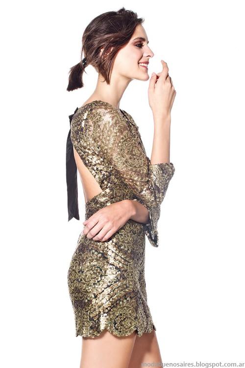 Maria Dahn vestidos de fiesta invierno 2013
