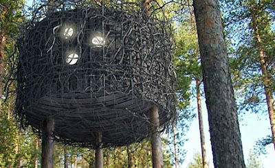 Design - birds nest like