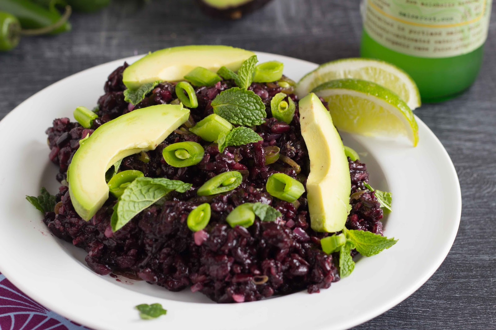 Thai Black Rice Salad Recipe — Dishmaps