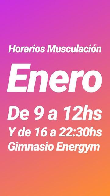 GIMNASIO ENERGYM (calle Paraná, a metros de la intersección con calle Eulogio González)