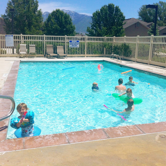 pool fun in utah