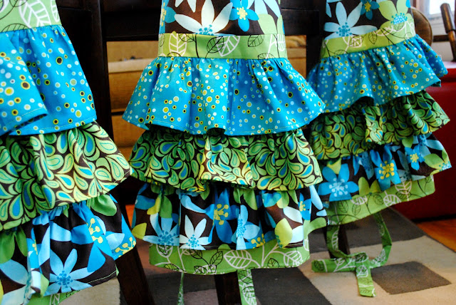 DIY Ruffled Apron