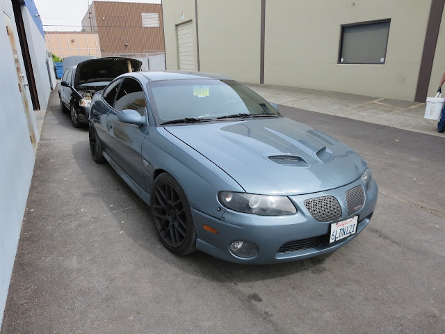 2005 Pontiac GTO after getting body repairs and paint at Almost Everything Auto Body