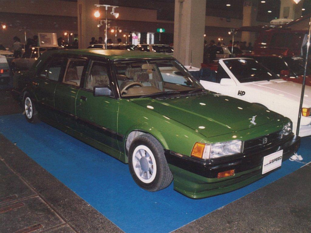 Honda Accord, limuzyna, modyfikacje, przeróbki, tuning, konwersja, japoński samochód, lata 80, zdjęcia, fotki