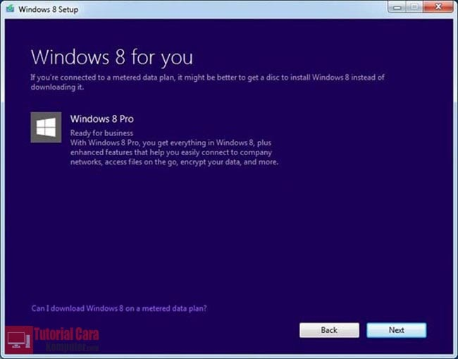 Tutorial Cara Download File ISO Windows 8 Original - TutorialCaraKomputer.com