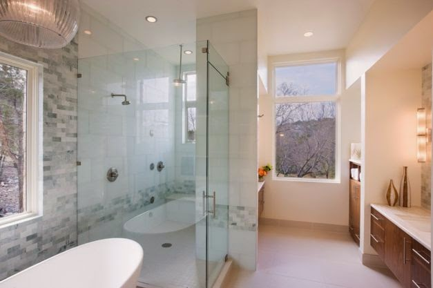 Contemporary Shower Design Ideas
