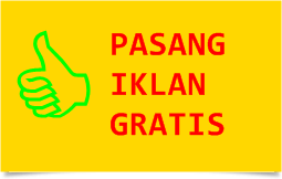 PASANG IKLAN GRATIS INTERNET