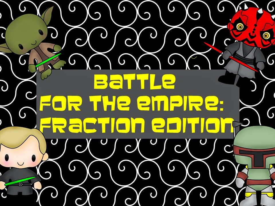 http://www.teacherspayteachers.com/Product/Battle-for-the-Empire-Fraction-Edition-1576343