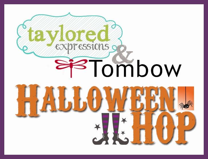 HandKrafted by Stephanie: TE & Tombow Halloween Hop