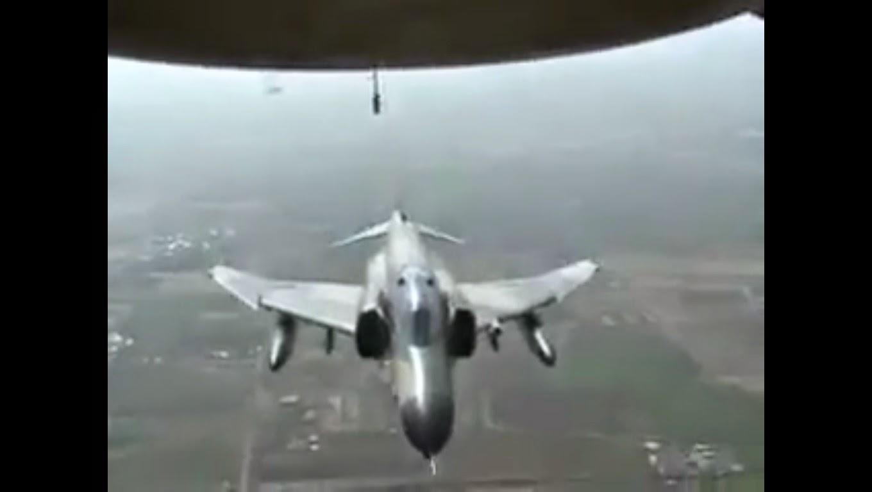 VIDEO Rakaman Dari Udara Pesawat MH17 Ditembak Jatuh