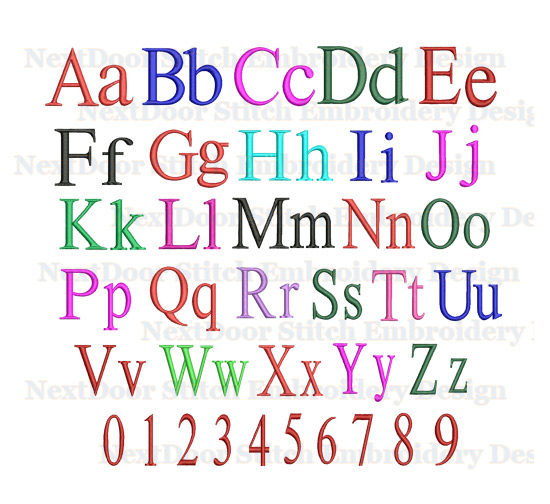 how to set a font to all files