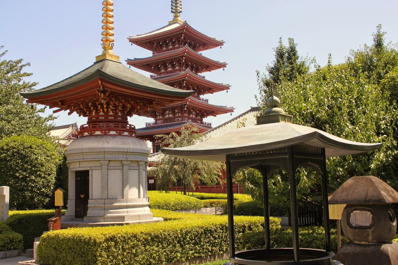 Tokyo:  Asakusa, Sensoji y Ueno