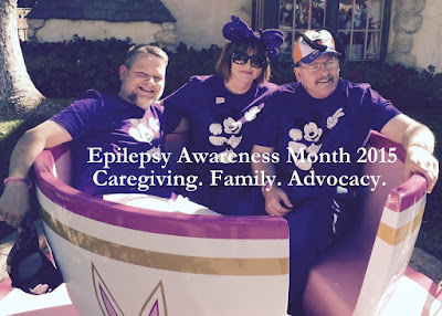 Epilepsy Awareness Month 2015: Caregiving. Family. Advocacy.