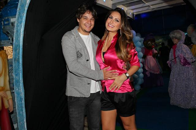Aniversário de 3 anos das gêmeas do cantor Luciano Camargo