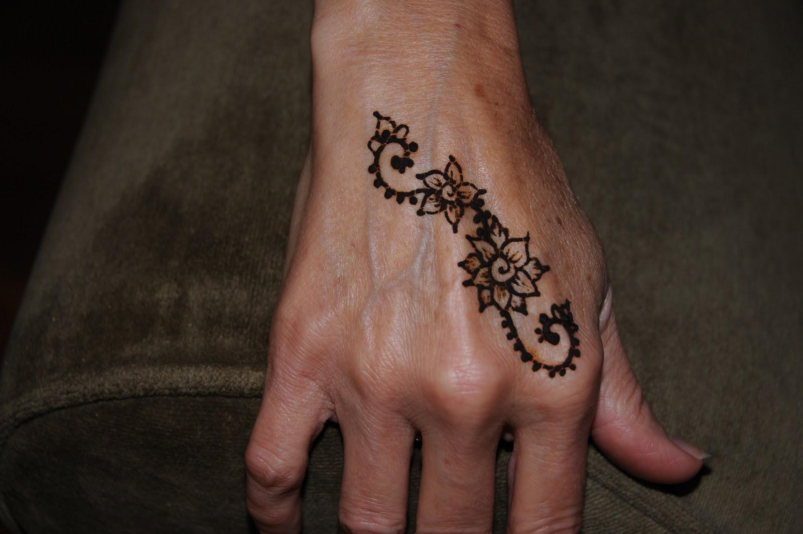 Flower Henna Designs Design