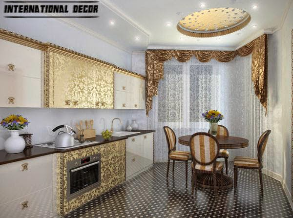 Art Deco kitchen designs and furniture