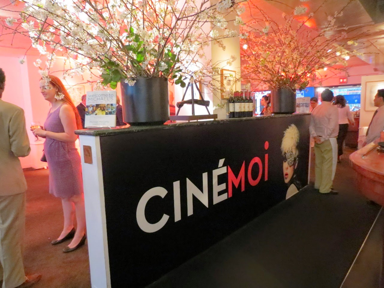 Cinemoi North America Upfront Events at Michael's NYC