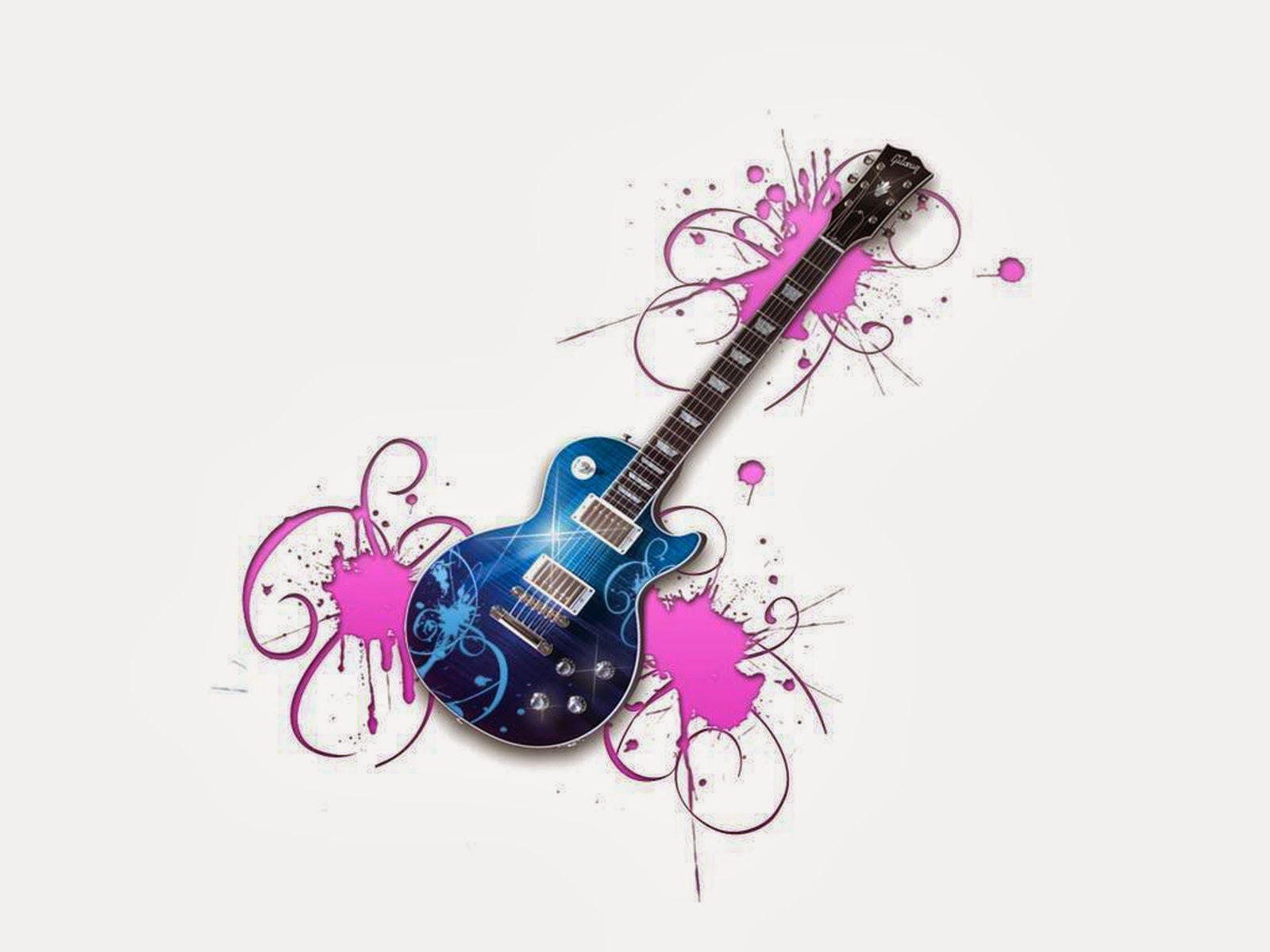 Magic Guitar Wallpaper