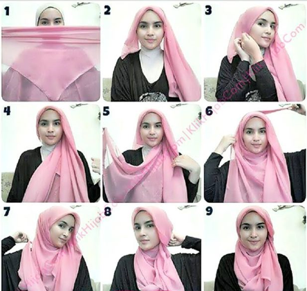 Tutorial Hijab Pinky Girl