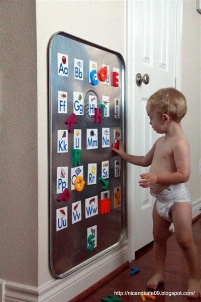 velcro wall panels. kids-diy huge wall magnet board velcro panels