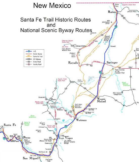 Raton Pass Map Submited Images