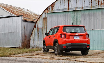 2015 Jeep Renegade Sport Review Canada