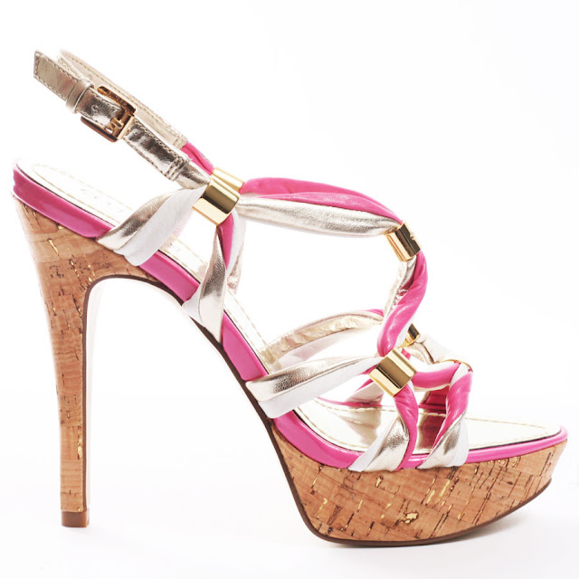 artist today pink wedding shoes