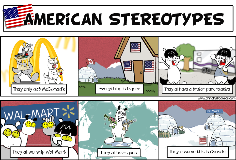 Stereotypes within and about american culture