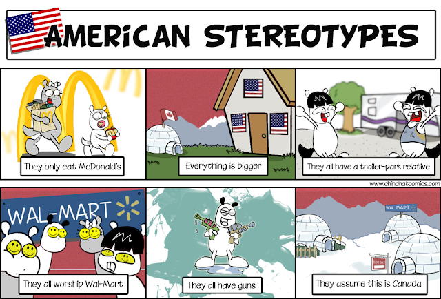 stereotypes in our day out essay
