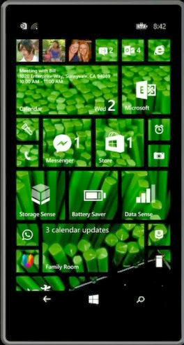 Windows Phone 8.1 Start Screen backgrounds
