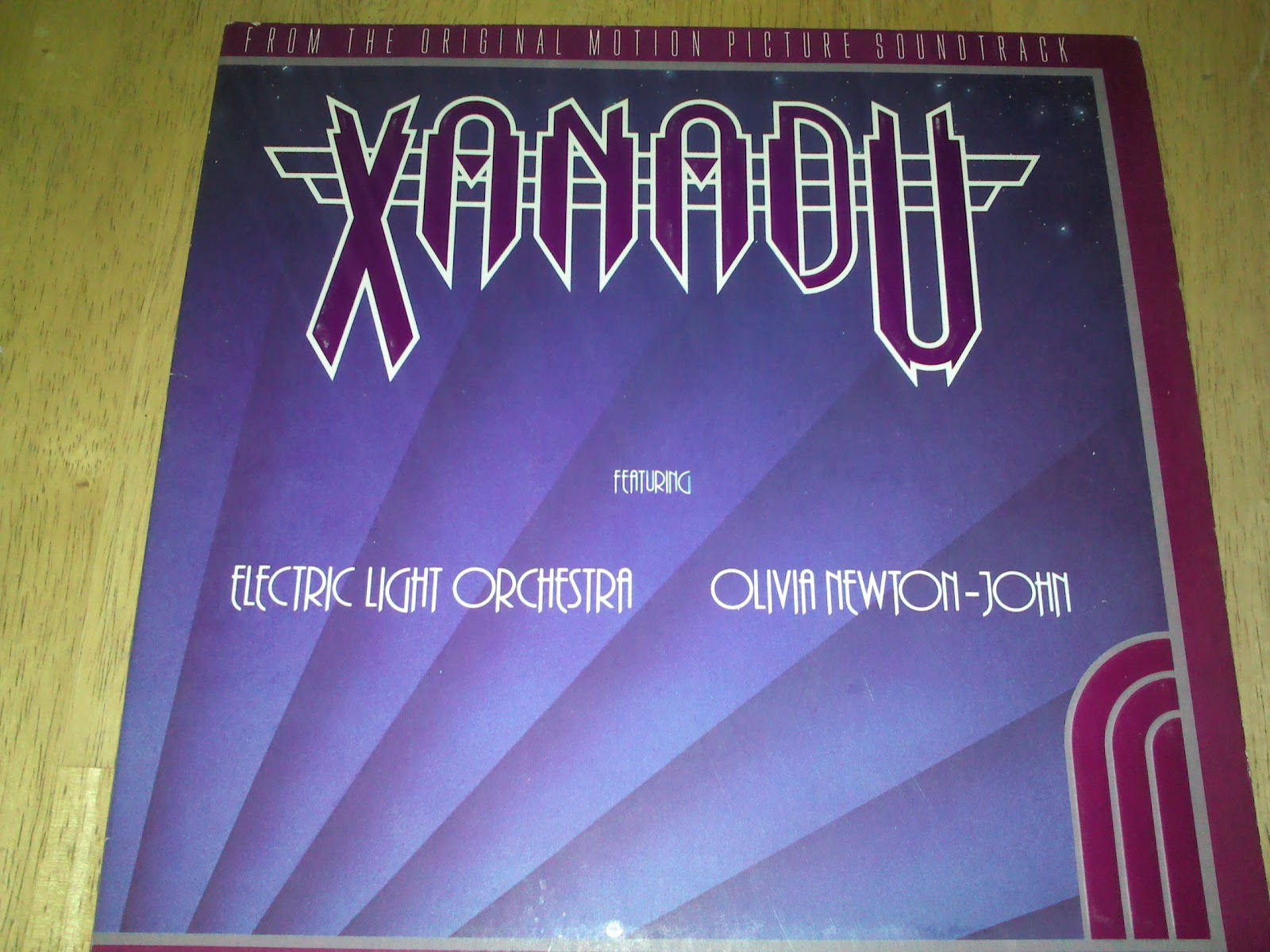 Front cover of Xsnadu 1980 soundtrack album movieloversreviews.blogspot.com