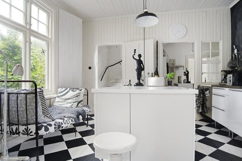 Stile nordico e linee essenziali home shabby home for Piani di casa in stile chateau francese