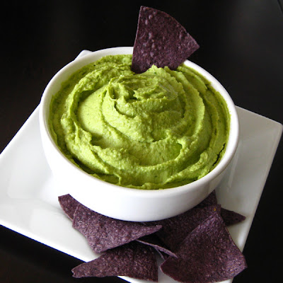 Cilantro-Avocado-Jalapeno Hummus | Karli's Kitchen