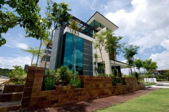 Lot 18 House Design Modern Kuala Lumpur Malaysia Interior