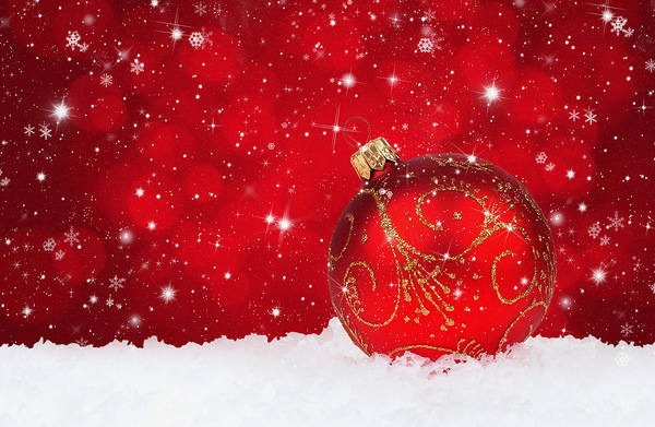 Christmas Backgrounds ball greetings