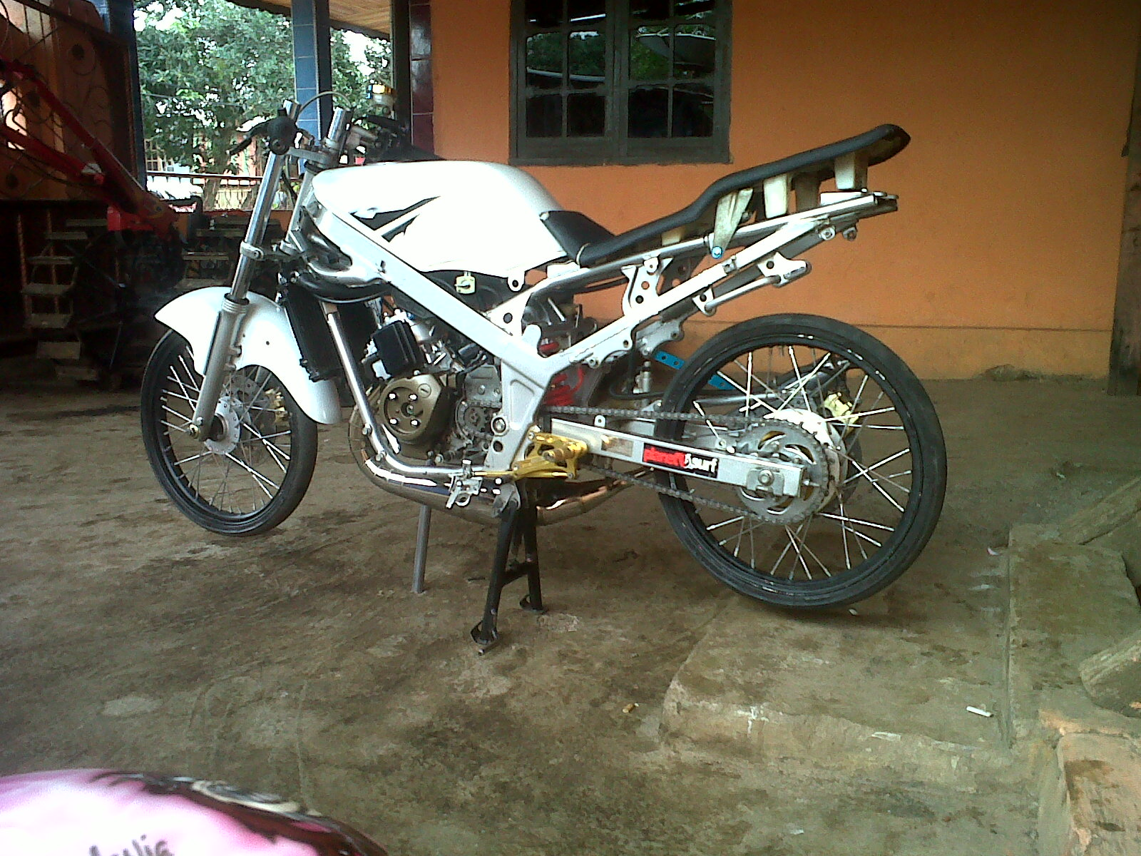 gambar motor ninja r racing air brush keren dan populer - rwblog