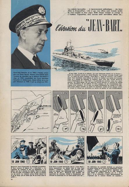Les exploits incroyables de héros d'hier et d'aujourd'hui dans Pilote - 1959 - 1961