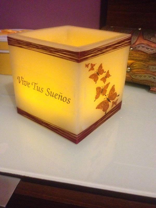 Velisa velas de dise o personalizado velas con mensaje - Velas de diseno ...