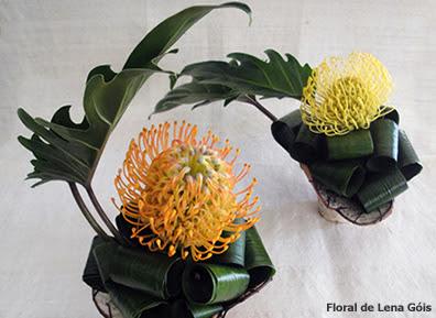 Dulcinéias e Madalenas: Passo a passo de arranjos florais I - Imagens De Arranjos De Flores Naturais Para Cemiterio