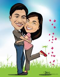 gambar karikatur tentang cinta. bagaimana menurut anda gambar-gambar