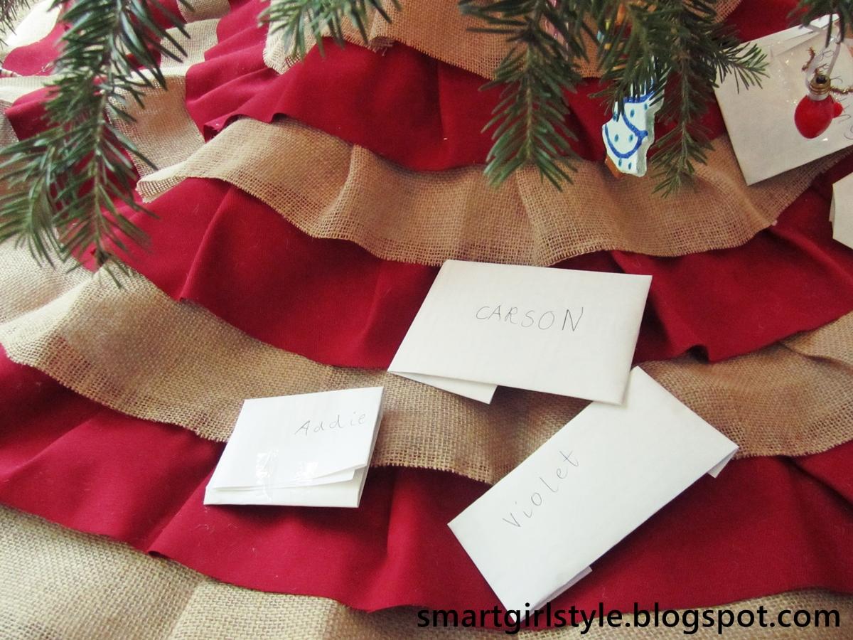 100 diy christmas tree skirt tawny u0027s tid bits burlap t
