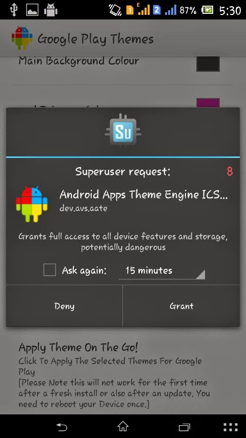 Android Apps Theme Engine-Pro v3.1