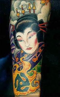 Dicas de Tatuagens Femininas de Gueixa