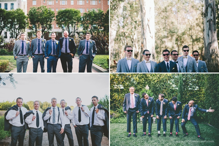 """""""casual groom and groomsmen photos in san francisco and los angeles"""""""