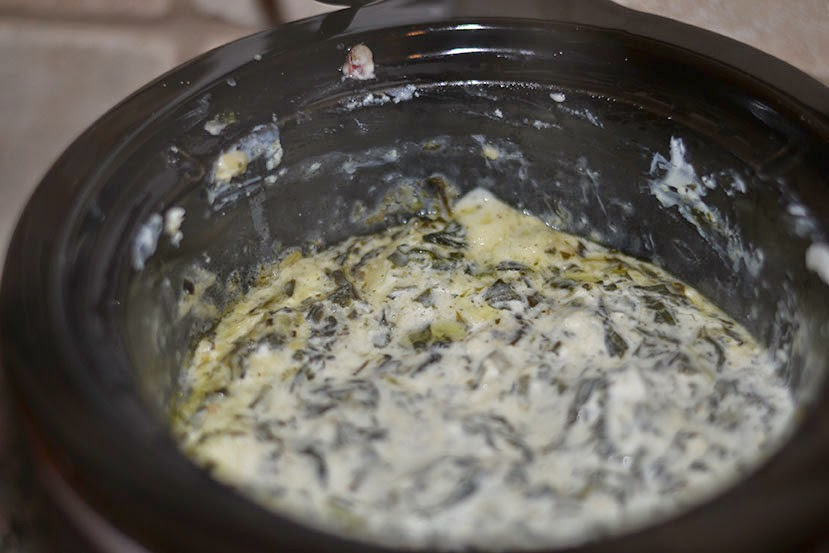 crockpot spinach dip Superbowl Snacks Cordier Events