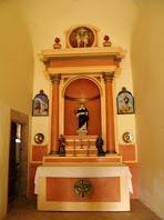 Altar de l'ermita de Sant Cugat de Gavadons